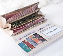 ONE PIECE Soft PU Leather Womens Wallet