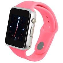 Bluetooth GSM Relógio Inteligente Homens Relógios Top Marca de Luxo Relogio masculino Masculino Relógio Dos Homens de Negócios Hodinky Smartwatch SIM TF