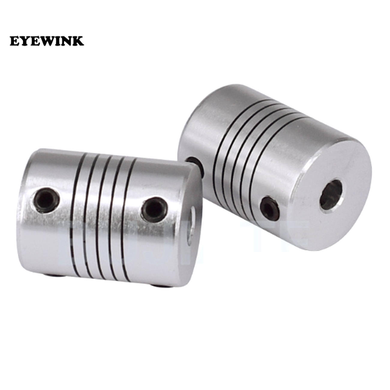 sourcing map 8mm to 10mm Stainless Steel Shaft Coupling Flexible Coupler Motor C