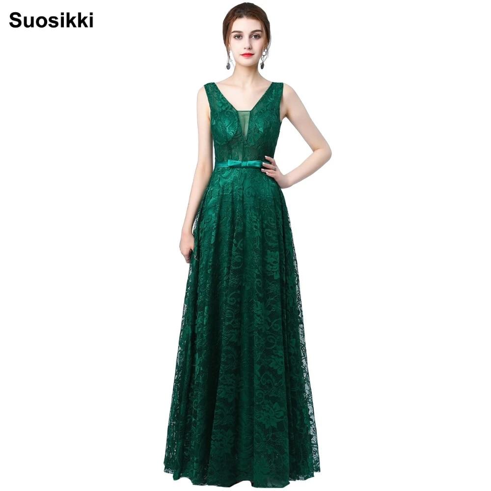 suosikki new design sky blue v neck sexy backless lace prom