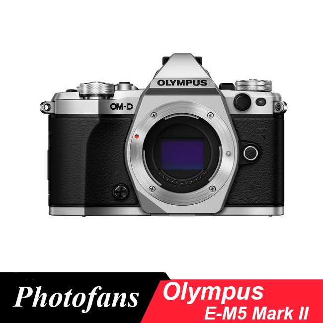 Olympus EM5 OM-D E-M5 Mark II Mirrorless M43 Digital Camera (body, New)