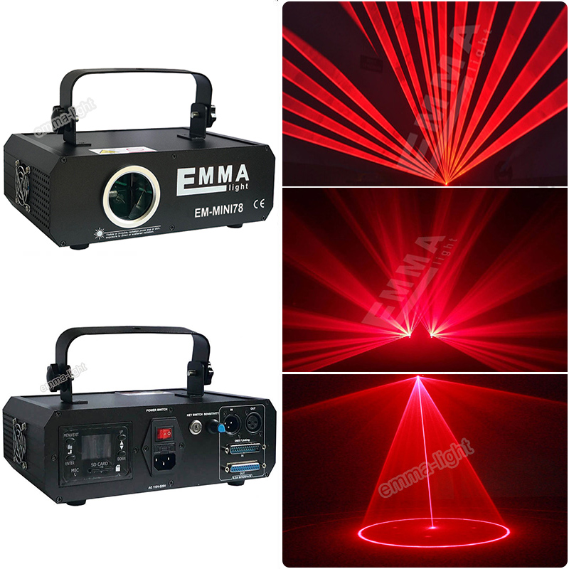Glorious 1w Red 638nm Laser Beam And Animation dmx Ilda Party Light/ktv Light/laser Projector/stage Lights/emma Laser Commercial Lighting