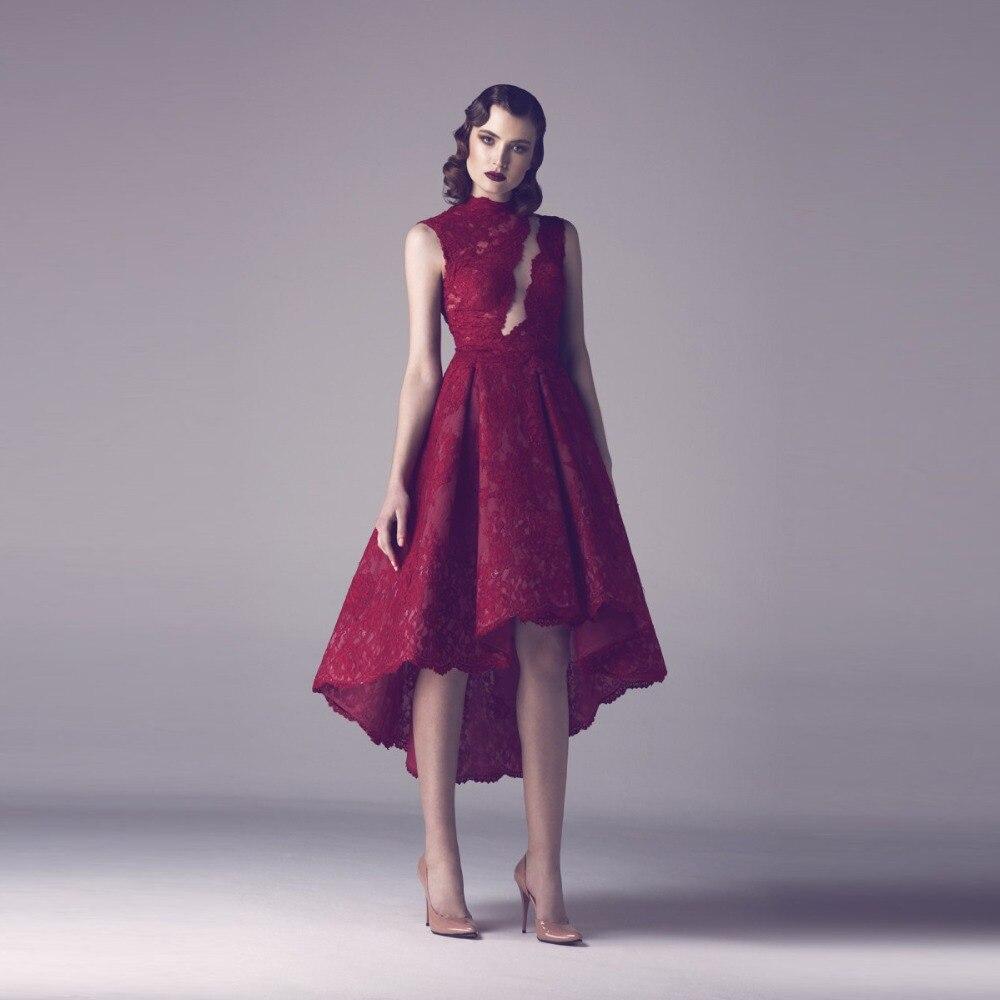 Encantador Vestido De Fiesta De Color Rojo Oscuro Ideas - Ideas de ...