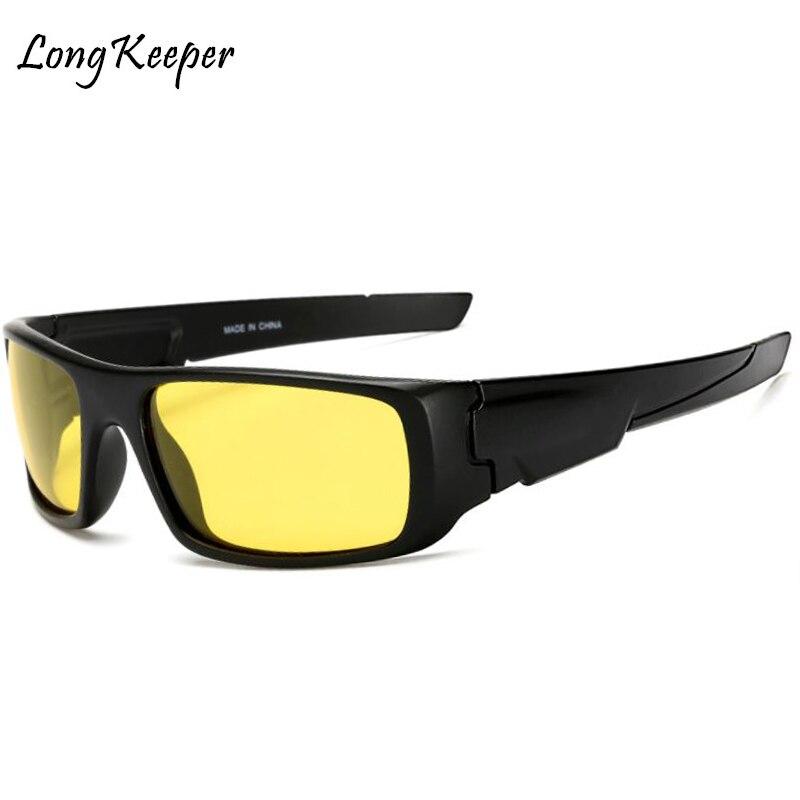 Long Keeper Hombres gafas de sol polarizadas Visión nocturna - Accesorios para la ropa