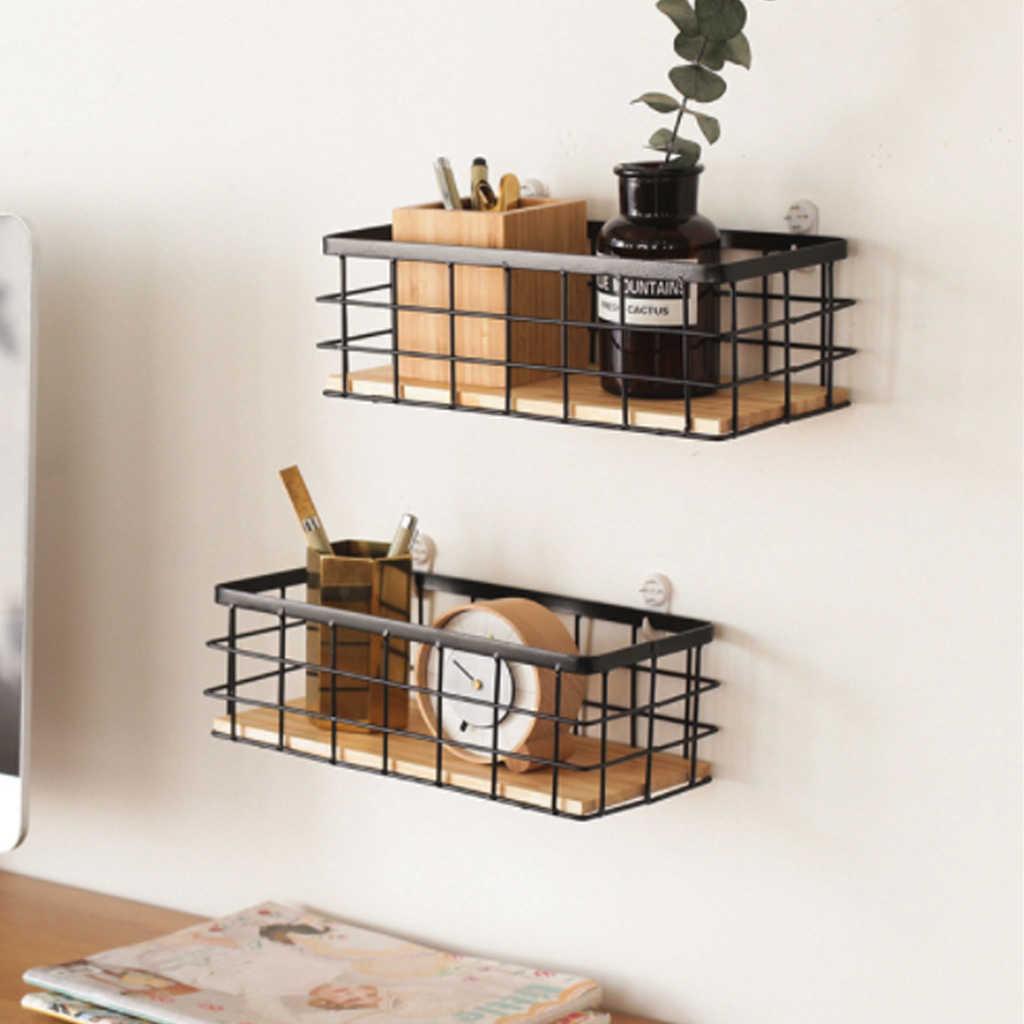 etagere murale en fer pour cuisine etagere de rangement pour maquillage et decoration de maison etagere de rangement murale en bois pour rangement