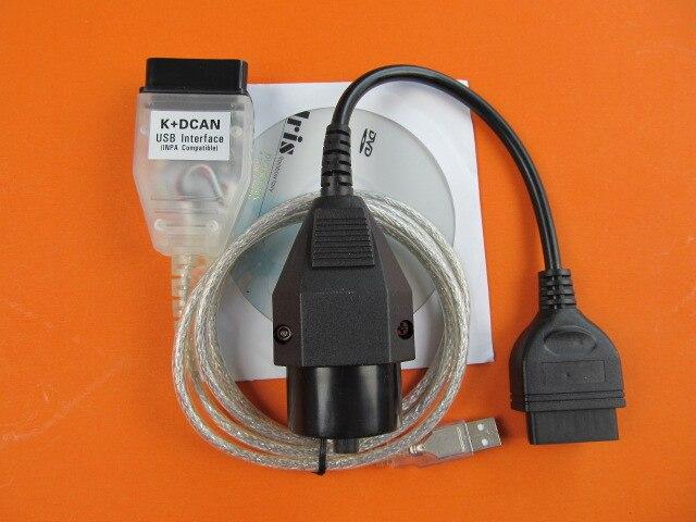 Pour bmw inpa ediabas k dcan usb avec pour bmw 20 broches câble obd Interface de diagnostic pour bmw livraison gratuite