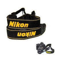 Камера плеча Средства ухода за кожей шеи Слинг Один ремень Средства ухода за кожей шеи ремень с логотипом для Nikon D7000/D5000/D3100/D3000 /D90/D70s