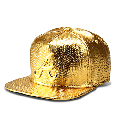 Gold Black snapback hat 5c64fe6f2bfe6