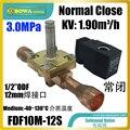 3.0MPa высокое качество 1.9m 3/ч Соленоидный клапан (нормальное закрытие) устанавливается в трубопроводах с горячим газом для испарителя против ...