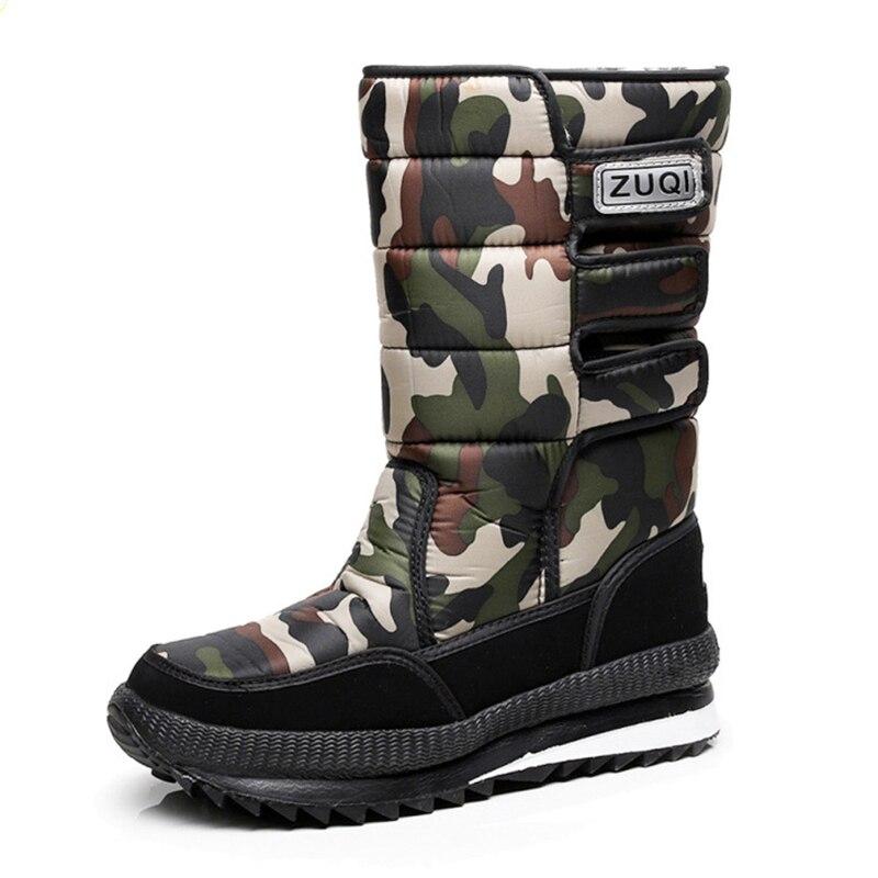 2017 men font b boots b font for winter waterproof hunting font b boots b font