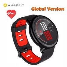[Versión en inglés] original xiaomi huami reloj ritmo amazfit pulsómetro bluetooth 4.0 deportes smart watch cerámica zirconia