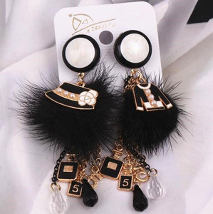 EH387 Tassel Long Brand Luxury Charm New 2017 Jewelry Pendientes Mujer Brincos Boucles D'oreilles Femme Earrings For Women