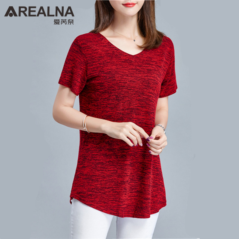 Women's Clothing Ambitious New Arrival 2019 Summer Women Blouses Shirts Casual Solid Short Sleeve V Neck Pockets Loose Long Shirts Tops Plus Size M-5xl