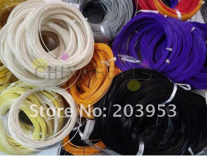 400pcs 16-26lbs badminton string line badminton training racket string badminton racquet line 0.72-0.75MM*10M
