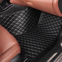 Car floor mats for BMW 5 series F10 F11 F07 GT 520i 523i 525i 528i 530i 535i 525D 530d car styling 5D carpet liners