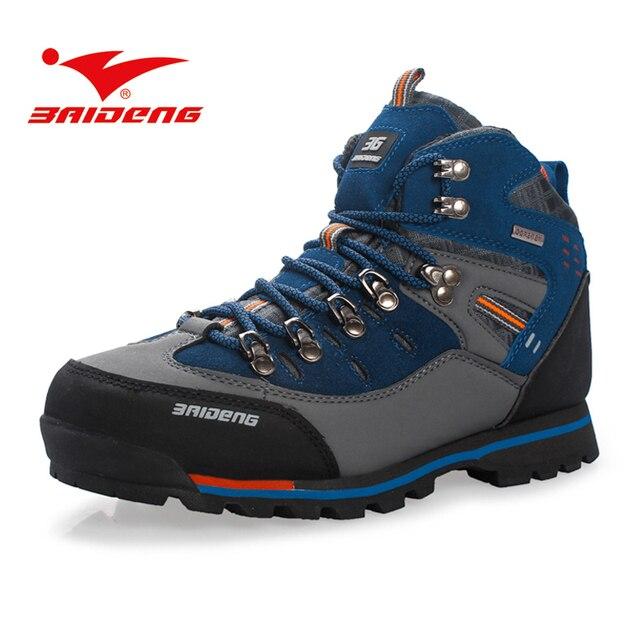 BAIDENG Trekking Schoenen Voor Mannen Waterdichte