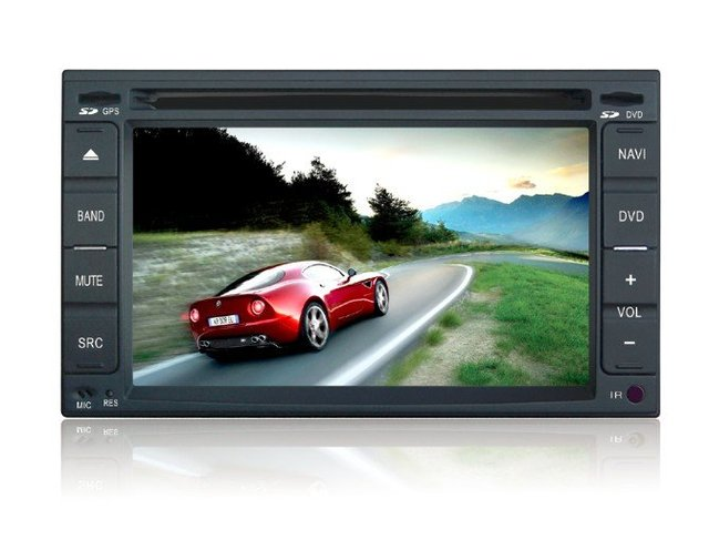 "6.2""  2DIN special car DVD player  For Hyundai Old Elantra Sonata Santa Fe with GPS  Bluetooth RDS  PIP V-CDC SWC dual zone"