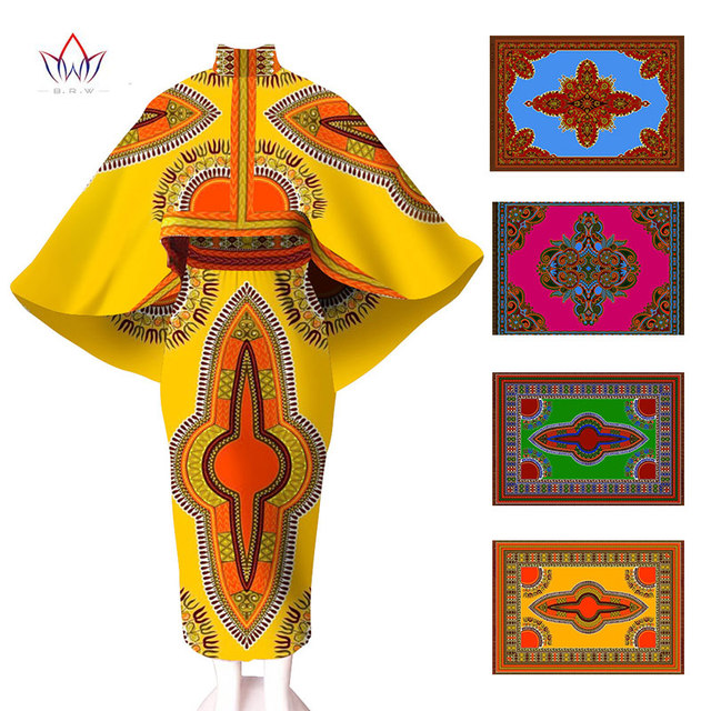 African Dresses for Women Two Pieces Set Winter Crop Top and Skirt Set Suits for Women Unqie Cape Coat and Maxi Skirt 6XL WY545