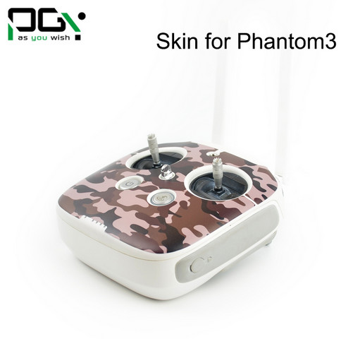 PGY Desert camouflage Skin For DJI Phantom 3 accessories Waterproof 3M PVC Stickers skins decals labels professional Drone parts