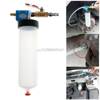 Car Motorcycle Brake Fluid Replacement Tool Hydraulic Pump Oil Bleeder Clutch Emptying Fluid Exchanger R02 Drop