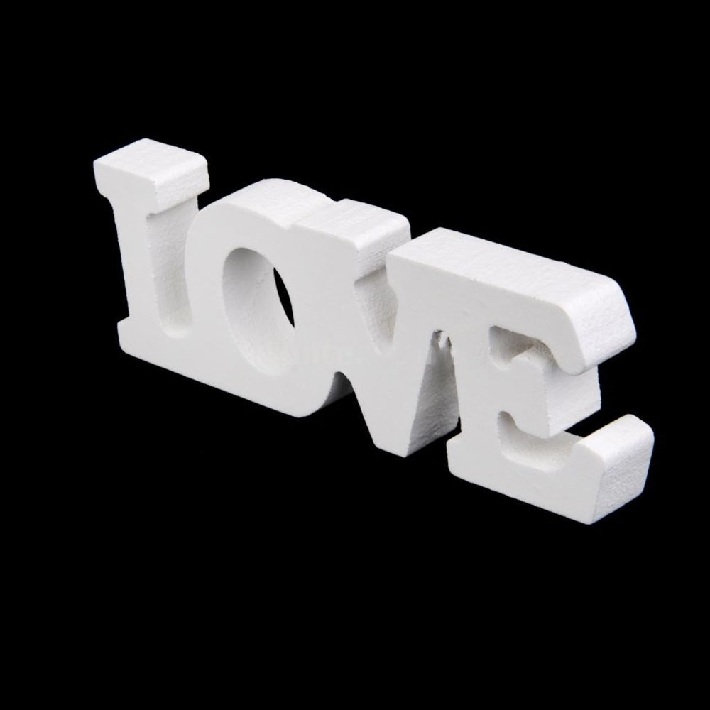 Fashion White Wooden Live Laugh Love Letter Sign Table Plaque Craft Wedding Birthday Home Party Decor Holiday Ornaments In Figurines Miniatures From