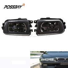 Правая левая противотуманная фара в сборе без лампы для BMW E39 5 серии 1995-2000 Z3 1995-2002 Кристалл 2 шт внешняя Замена