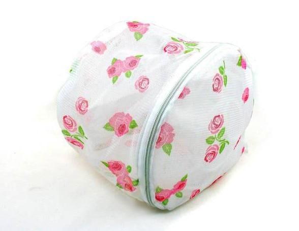Rose Folding Bra Underwear Care Wash Bag Laundry Bag Care Wash Bag Personal Care Bags