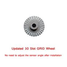 30スロットステアリングホイール光学式エンコーダロジクールG27/駆動力gtステアリングホイールシステム304ステンレス鋼素材