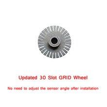 30 فتحة عجلة القيادة التشفير البصري ل Logitech G27/قوة القيادة GT عجلة القيادة s أنظمة 304 مواد من الستانلس ستيل