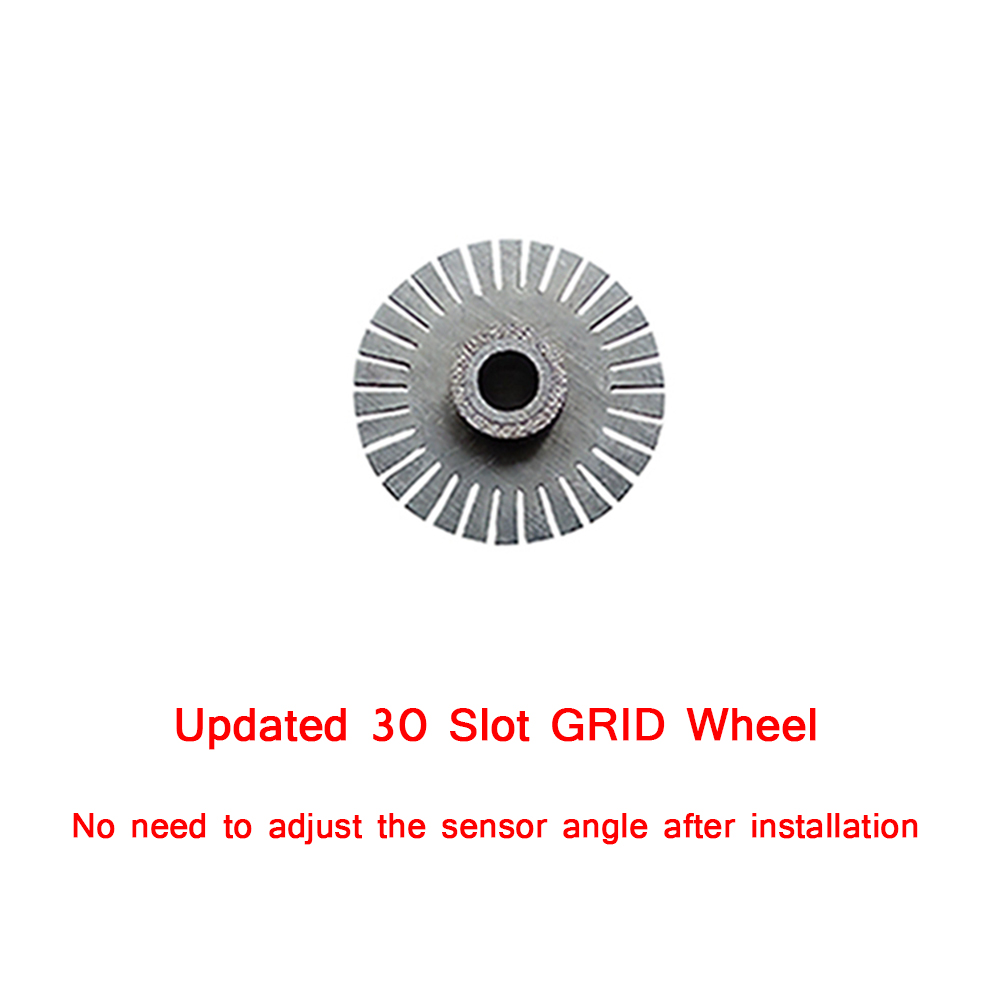 30 Slot Steering Wheel Optical Encoder for Logitech G27 / Driving Force GT  Steering Wheels Systems 304 Stainless Steel Material