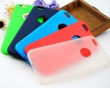 Для iPhone 7 + 5.5 »Soft TPU Крышка Для Apple iPhone 7 Plus случаи Цвет Желе Силиконовые ТПУ Мягкой Оболочки Macarons Мобильный Телефон Набор