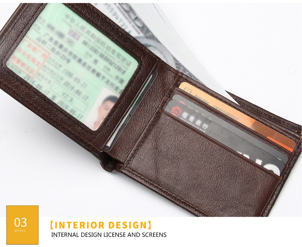 2031-100% top quality cow genuine leather men wallets fashion splice purse dollar price carteira masculina-1_01 (26)