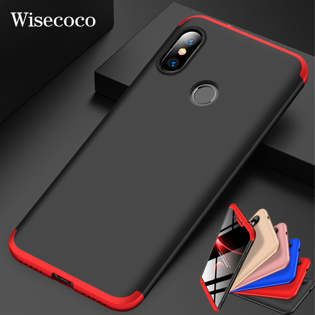 detailed look a8cd4 6c02e US $4.99 |360 Degree Hard Case for Xiaomi Mi 8 Se 6 Mix Max 2 3 2s A2 Lite  A1 6x 5x Redmi S2 Y2 6a Note 5 6 Pro Plus 5a Prime Back Cover-in Fitted ...