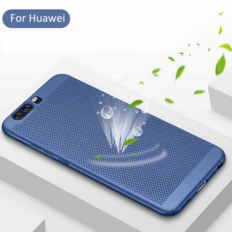 Heat Dissipation Case For Huawei P20 P30 Lite Pro Mate 10 P10 P8 P9 Lite Honor 10 7X 9 Lite Nova 3 4 Mate 20X Cover Phone Shell