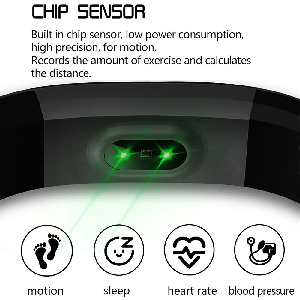 6 Bracelet intelligent moniteur de santé