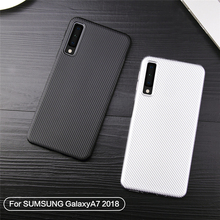 For Cover Samsung Galaxy A7 Case Soft Silicone Rubber Phone for 2018 Coque Bag
