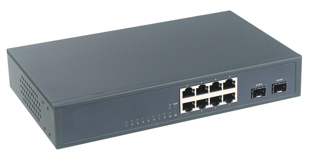 8-Port Gigabit  Reverse Poe managed ethernet Switch with 2 SFP slots кастрюля 1 5л 16х8см linea bimbo vitro regent 693749