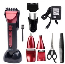 KM-8058 5in1 Men Trimmer Razor Hair Clipper Trimer Electric Shaver Beard Trimmer Nose Styling Tool For Men Cutting Machine