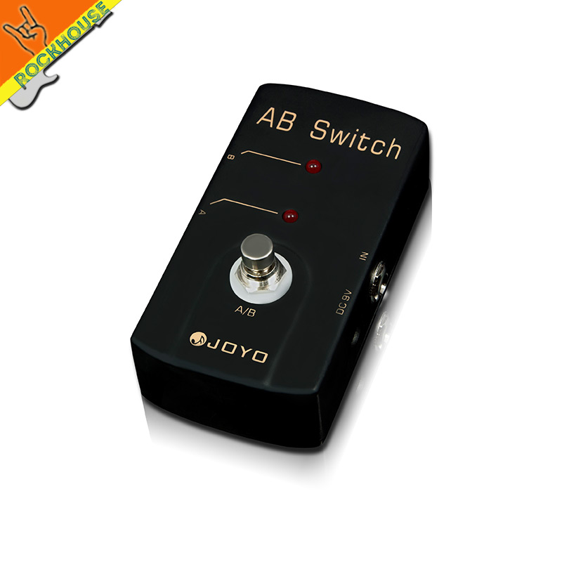 JOYO AB Box Guitar ABY Selector A/B Switch Guitar Signal diverter Amplifier Line Selector Free Shipping kid s box 2ed 6 ab online resources