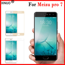 Tempered Glas For Meizu professional 7 Glass Full Cowl For Meizu professional 7 Cowl protecting 9 H Permiun Movies Guard Display Protector Case