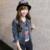 Delgado Harajuku de Primavera Y Otoño de Las Mujeres Chaqueta Corta de Mezclilla 2016 de La Vendimia de Gran Tamaño Vaqueros Femeninos Sólido Abrigo prendas de Vestir Exteriores