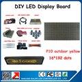 Бесплатная доставка реклама из светодиодов дисплей программируемый перемещение сообщения diy p10 из светодиодов вывеска открытый 24 * 200 см