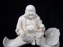 Cina Blanc Patung Porcelain