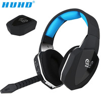 HUHD 2016 New HW 398M Wireless Headphone Optical Wireless Gaming Headset For XBox 360 PS4 3