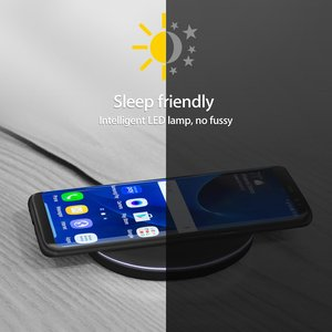Image 5 - NTONPOWER 10W Fast Wireless Charger For iPhone X 8 XS Max XR Qi Wireless Charger for Samsung S8 S9 Plus USB Phone Charger Pad