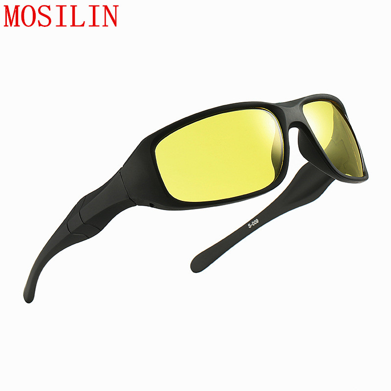 Brand Hot Sale Night Driving Glasses Anti Glare Glasses For Safety Driving Sunglasses Yellow Lens Night Vision Goggles