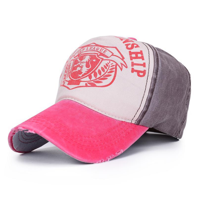 5fff9c9eccb COKK Mens Baseball Caps Dad Hat Casquette Women Wash Snapback Caps Lion  Logo Bone Hats For Men Hat Gorras Letter Cotton Hip Hop-in Baseball Caps  from ...