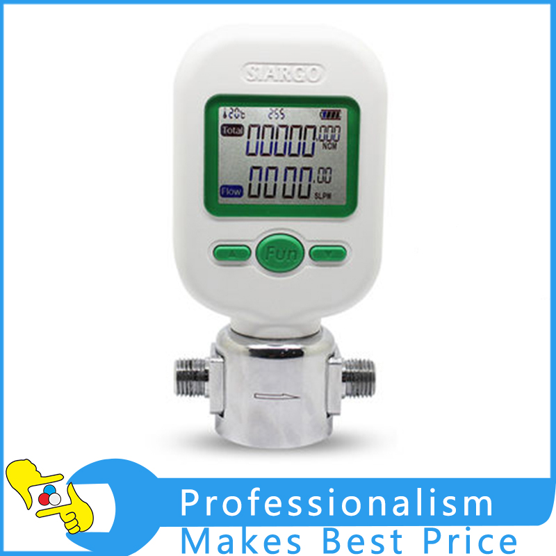 0-25L/min MF5706 Digital Gas Mass Flow Meter Portable Gas Air Flow Rate Tester Digital Display Meter new mass air flow meter sensor 22204 22010 for toyota vzj95 acv30 yaris gs450h