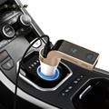 4 en 1 Inalámbrico de Manos Libres Bluetooth FM Del Modulador Del Transmisor Del Coche Kit LCD Coche Reproductor de MP3 USB SD Reproductor de Música G7 + AUX