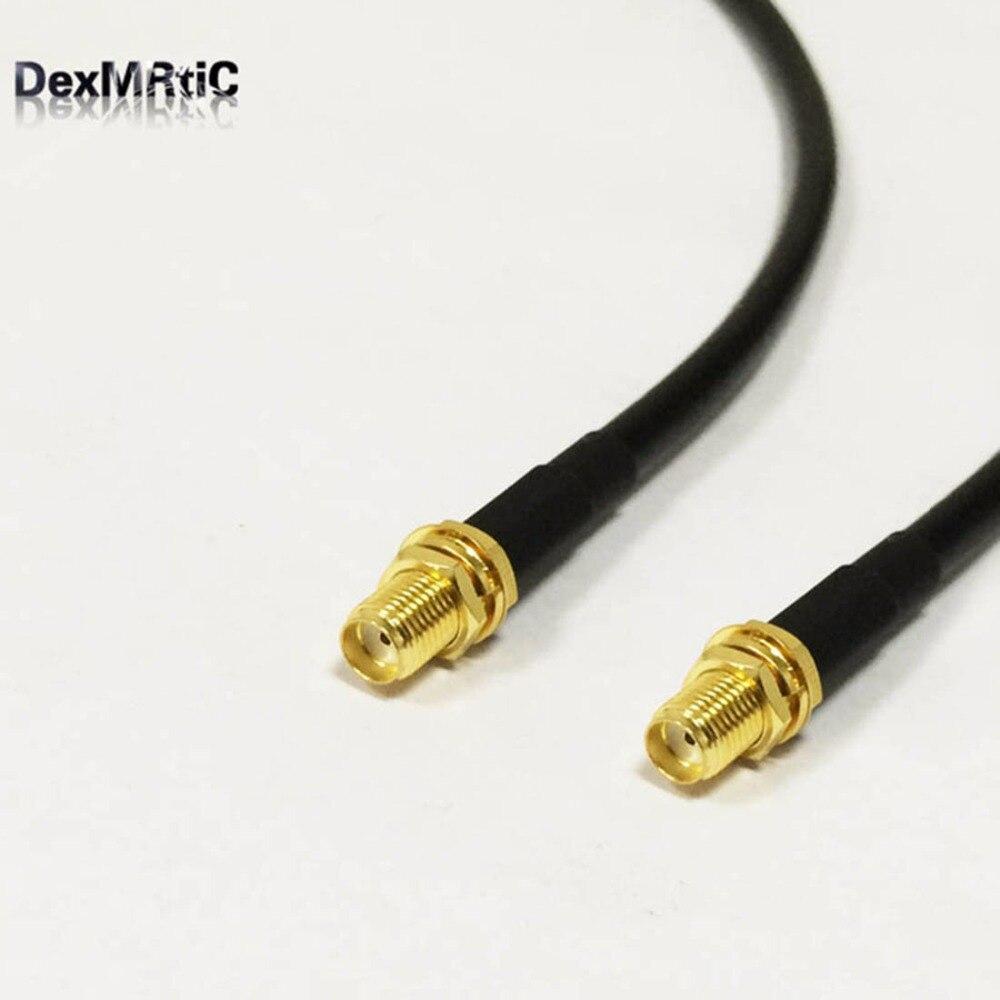 Новинка, кабель для беспроводного модема, разъем SMA, разъем, гайка SMA, гайка, отрезок RG58, оптовая продажа, быстрая доставка, адаптер 100 см, 40 дюй...